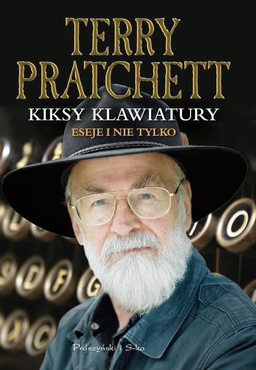 okładka Kiksy klawiatury, Książka   Terry Pratchett