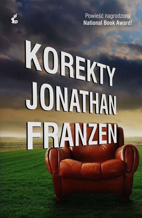 okładka Korekty, Książka | Jonathan Franzen
