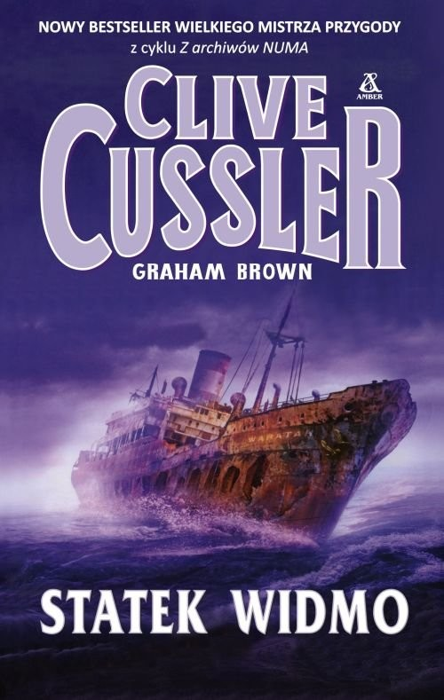 okładka Statek widmo, Książka   Cussler Clive, Brown Graham
