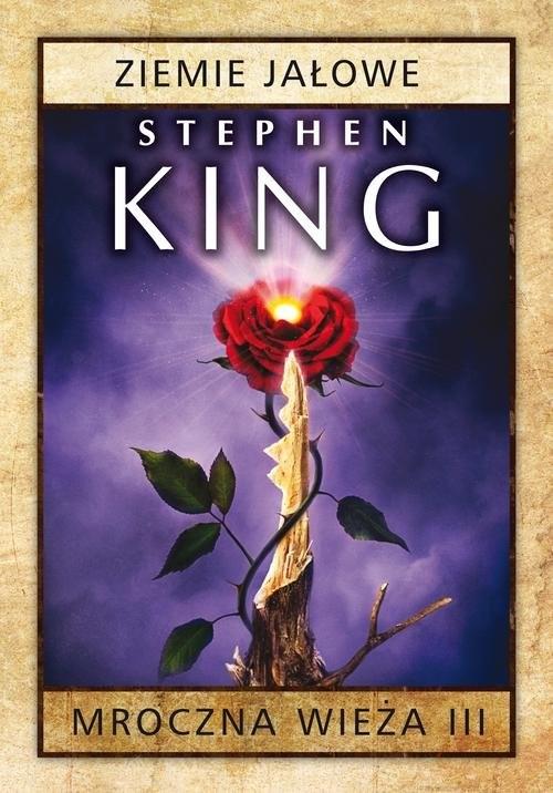 okładka Mroczna wieża. Tom 3 Ziemie jałowe, Książka | King Stephen