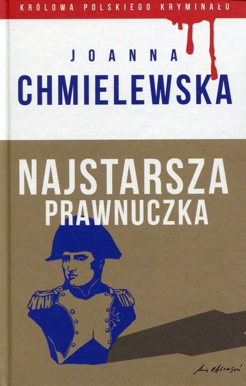 okładka Najstarsza prawnuczka, Książka   Chmielewska Joanna