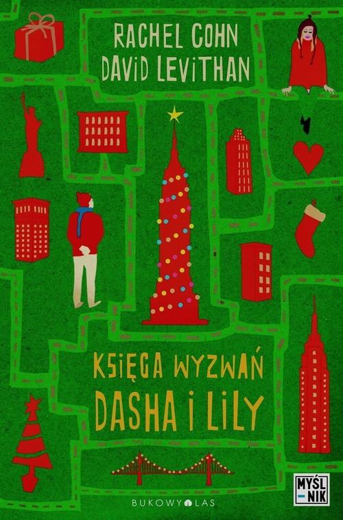 okładka Księga wyzwań Dasha i Lily, Książka | Rachel Cohn, David Levithan