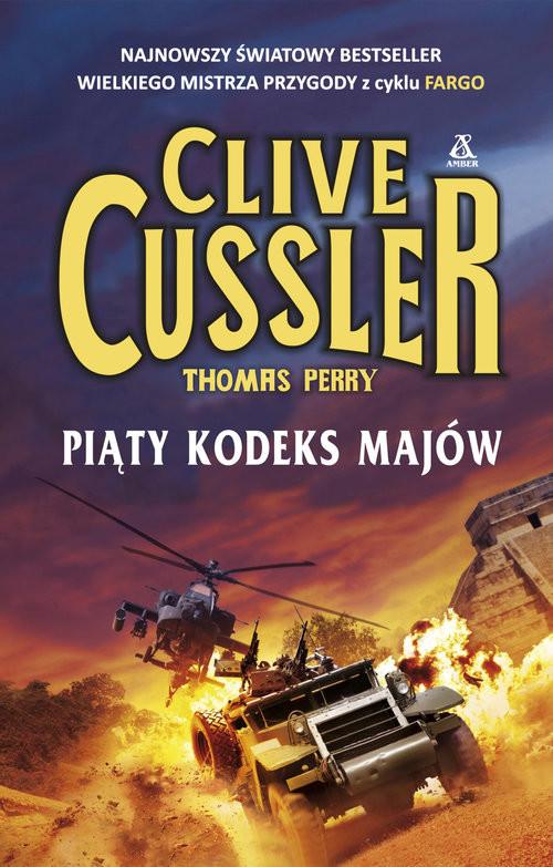 okładka Piąty kodeks Majów, Książka   Cussler Clive
