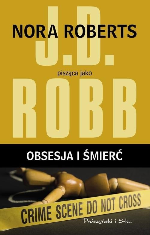 okładka Obsesja i śmierć, Książka | Robb J.D