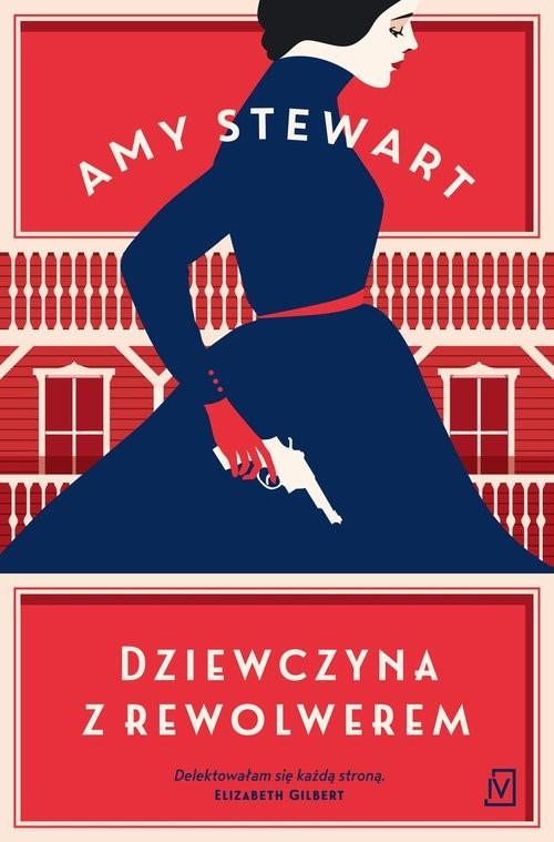 okładka Dziewczyna z rewolwerem, Książka | Stewart Amy