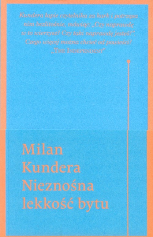 okładka Nieznośna lekkość bytu, Książka | Kundera Milan