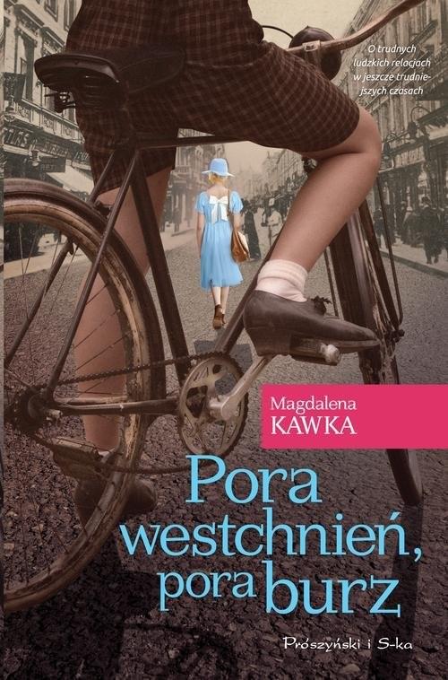 okładka Pora westchnień, pora burz, Książka | Kawka Magdalena