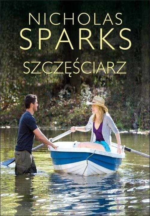 okładka Szczęściarzksiążka      Sparks Nicholas