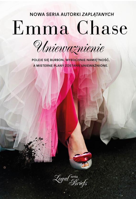 okładka Unieważnienie, Książka | Chase Emma