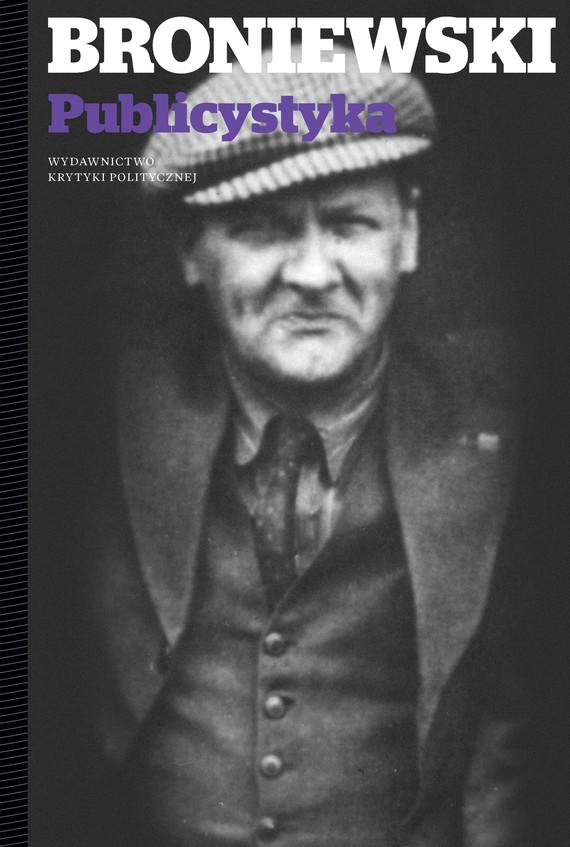 okładka Publicystyka, Książka | Broniewski Władysław