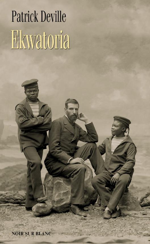 okładka Ekwatoria, Książka | Patrick Deville