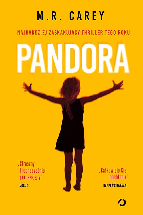okładka Pandora, Książka | M.R. Carey