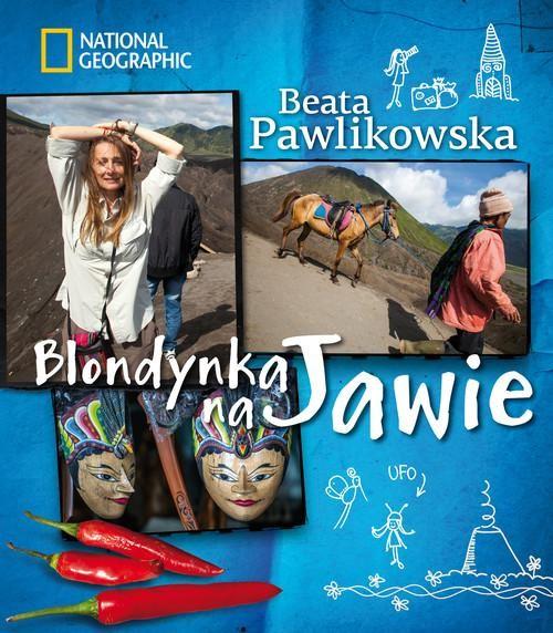 okładka Blondynka na Jawie, Książka | Beata Pawlikowska