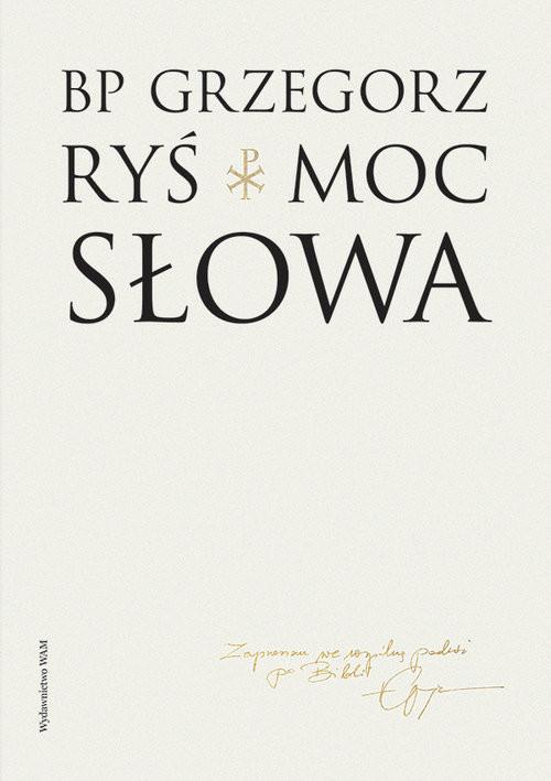 okładka Moc słowa, Książka | Ryś Grzegorz