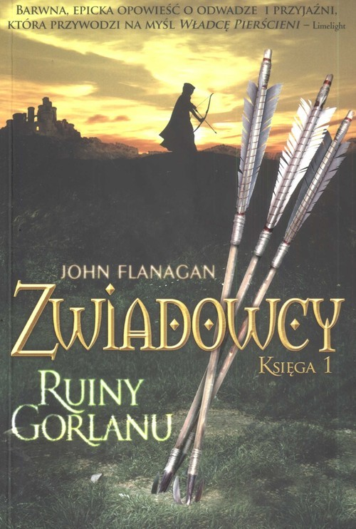 okładka Zwiadowcy. Księga 1. Ruiny Gorlanu, Książka | John Flanagan