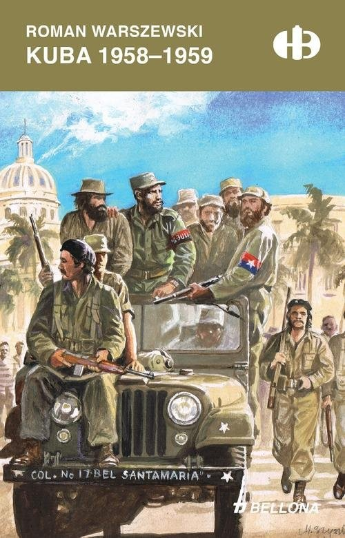 okładka Kuba 1958-1959, Książka | Warszewski Roman