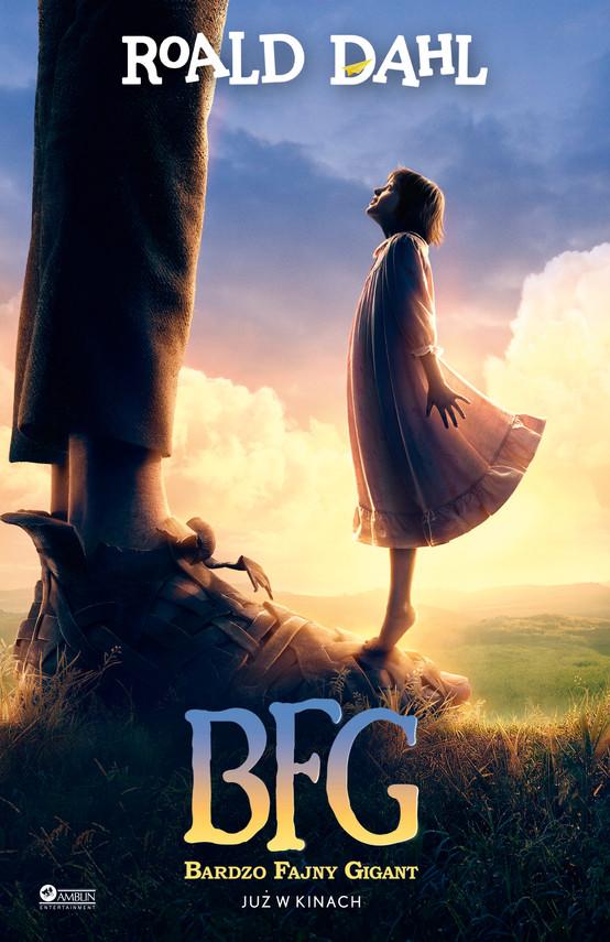 okładka BFG, Książka | Roald Dahl