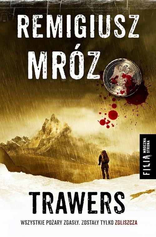 okładka Trawers, Książka | Mróz Remigiusz