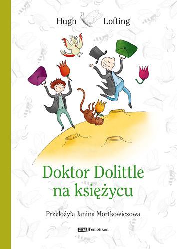 okładka Doktor Dolittle na księżycu, Książka | Hugh Lofting