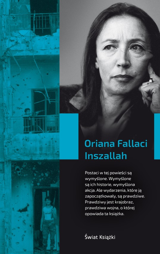 okładka Inszallah, Książka | Fallaci Oriana