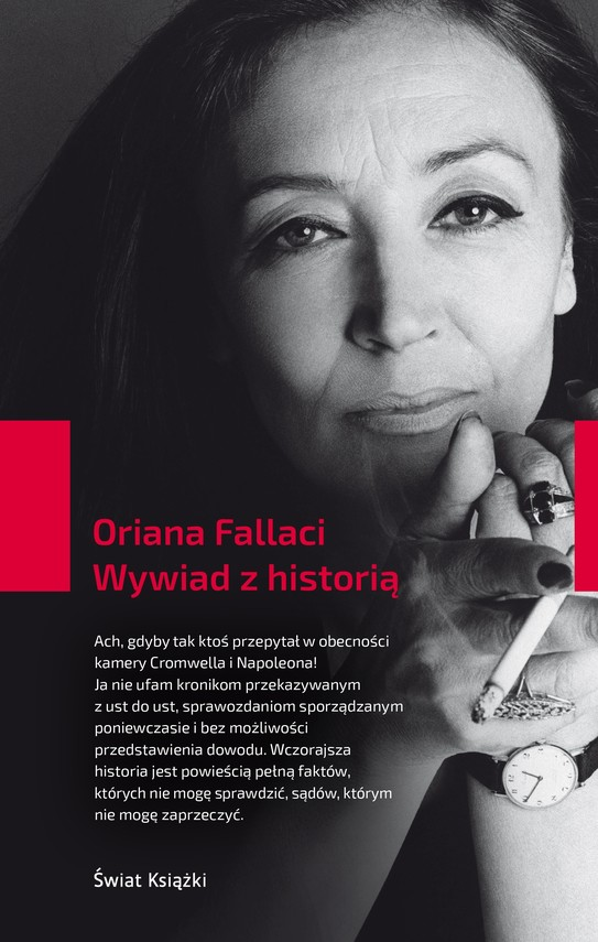 okładka Wywiad z historią, Książka | Fallaci Oriana