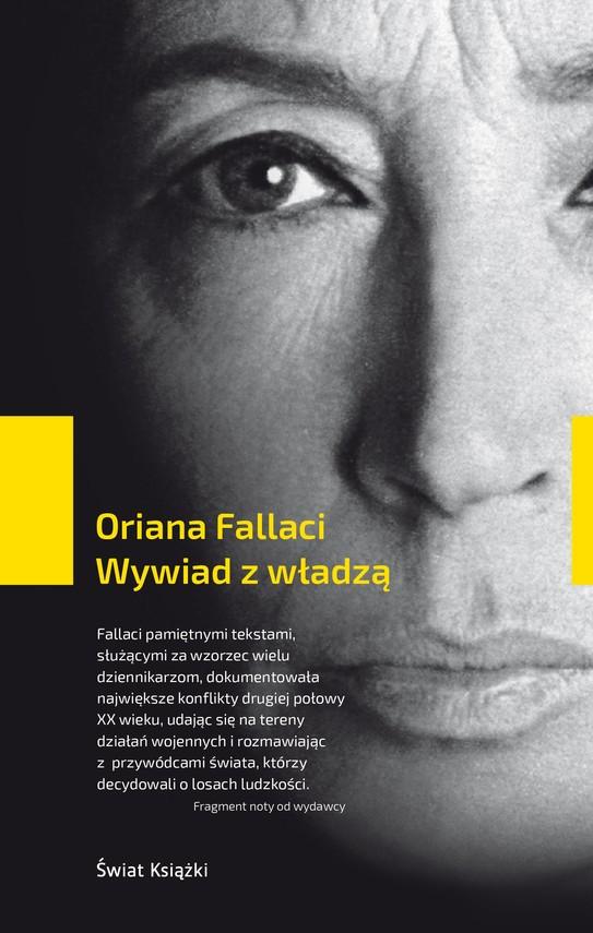 okładka Wywiad z władząksiążka |  | Fallaci Oriana