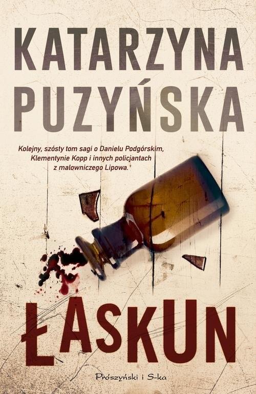 okładka Łaskun, Książka | Puzyńska Katarzyna
