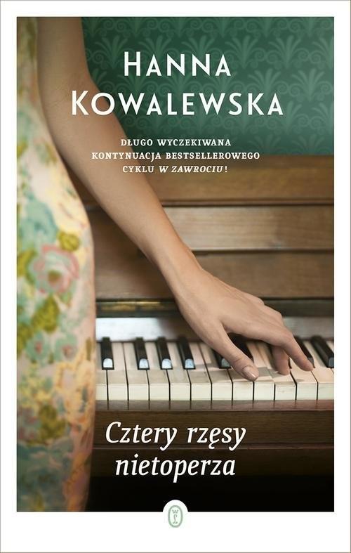 okładka Cztery rzęsy nietoperza, Książka | Kowalewska Hanna