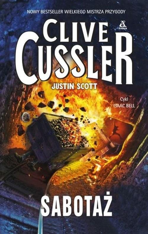 okładka Sabotaż, Książka | Cussler Clive, Scott Justin