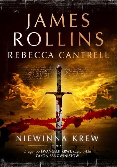 okładka Niewinna krew, Książka | James Rollins, Rebecca Cantrell