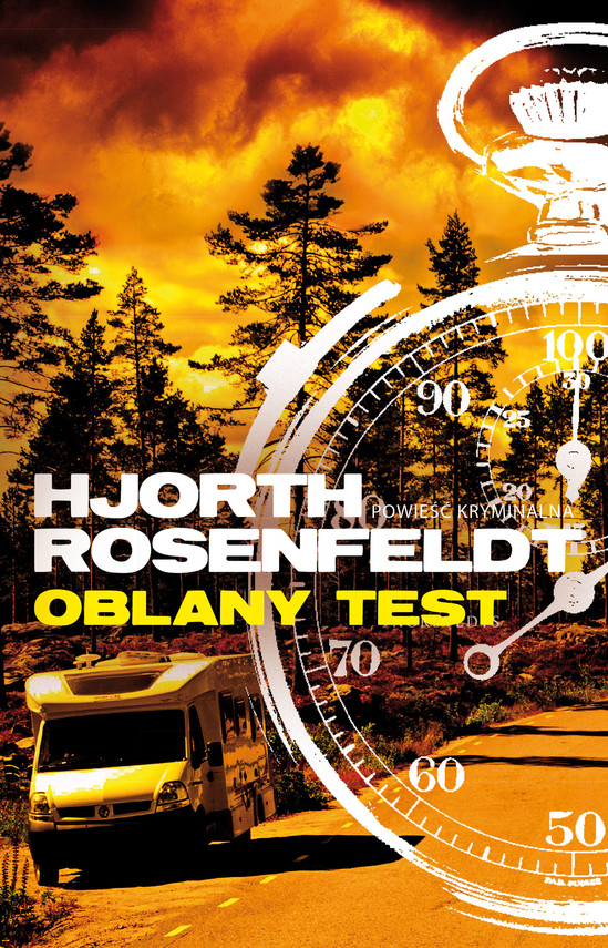 okładka Oblany test, Książka | Hjorth Michael, Rosenfeldt Hans