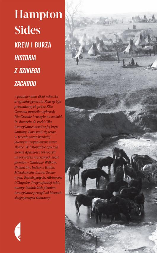 okładka Krew i burza. Historia z Dzikiego Zachodu, Książka | Hampton Sides