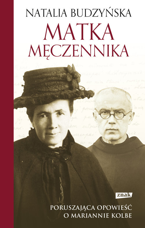 okładka Matka męczennika, Książka | Budzyńska Natalia
