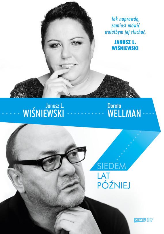 okładka Siedem lat później, Książka | L. Wiśniewski Janusz, Wellman Dorota