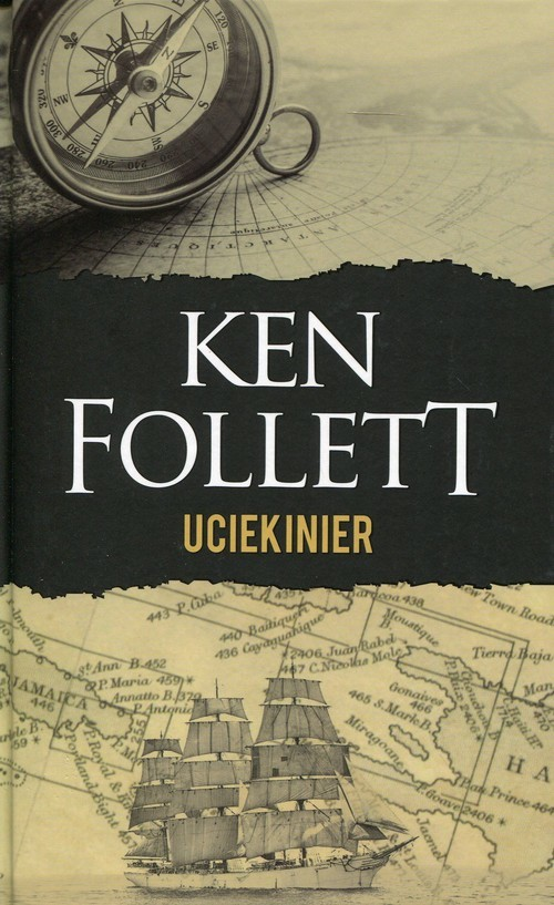 okładka Uciekinier, Książka | Ken Follett