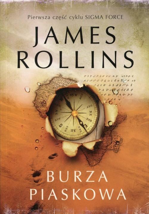 okładka Burza piaskowa, Książka | Rollins James