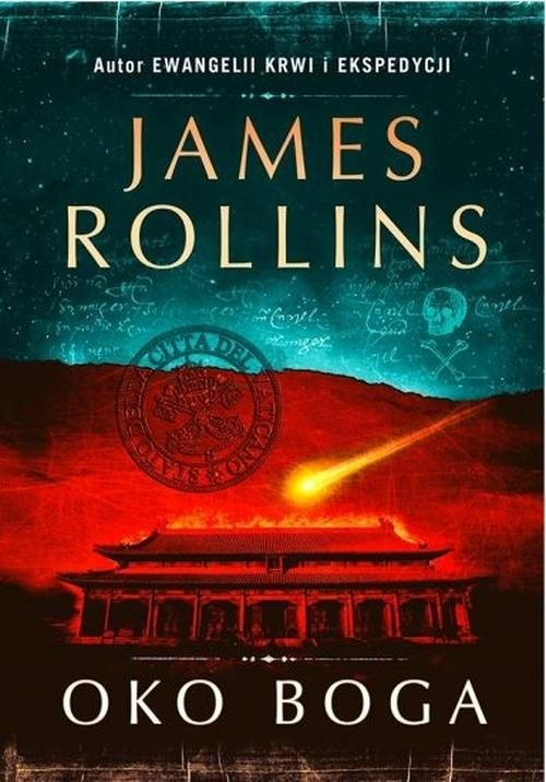 okładka Oko Boga, Książka | Rollins James