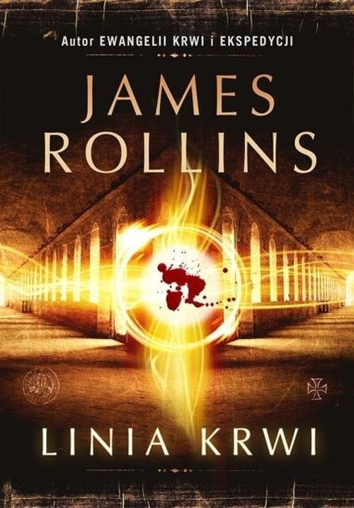 okładka Linia krwi, Książka | James Rollins