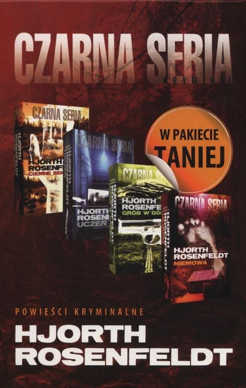 okładka Ciemne sekrety+ Uczeń+ Grób w górach+ Niemowa- Pakiet, Książka | Hans Rosenfeldt, Michael Hjorth