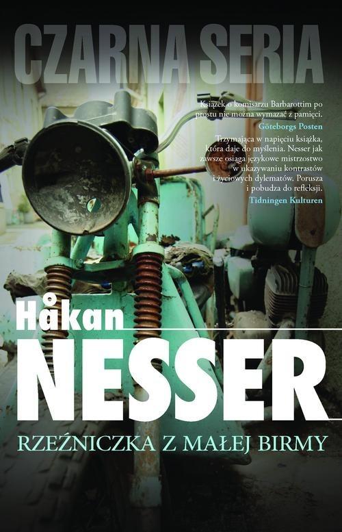 okładka Rzeźniczka z Małej Birmy, Książka | Håkan Nesser