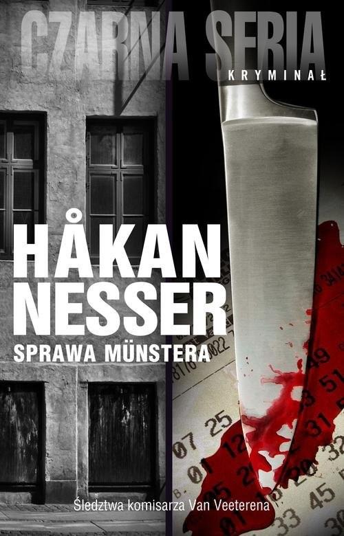 okładka Sprawa Munstera, Książka | Nesser Hakan