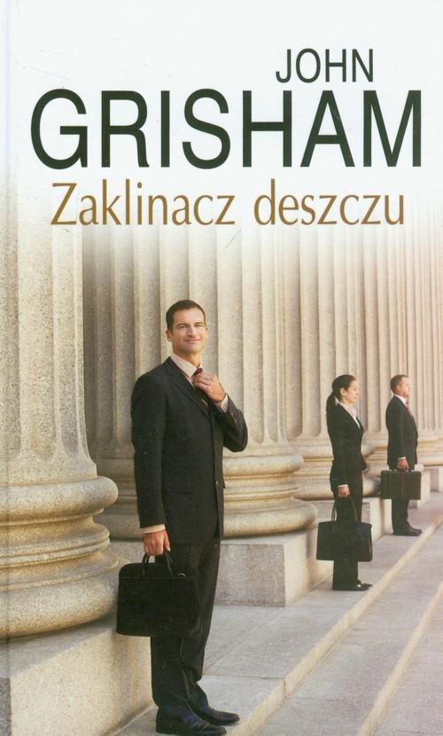 okładka Zaklinacz deszczuksiążka      Grisham John