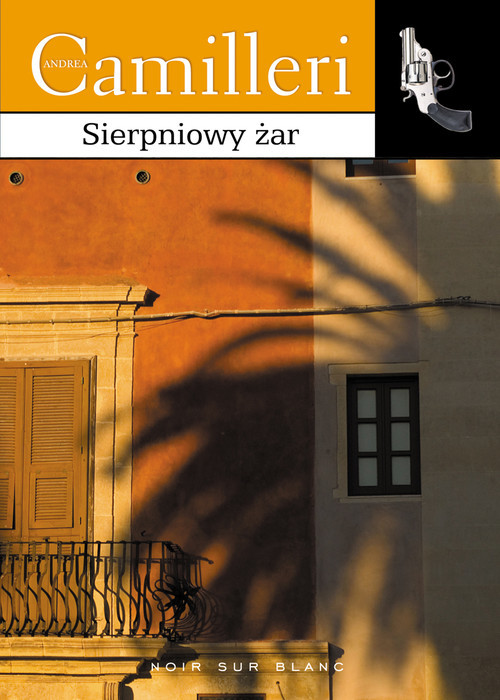 okładka Sierpniowy żar, Książka | Andrea Camilleri