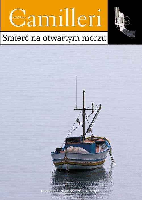 okładka Śmierć na otwartym morzu, Książka | Andrea Camilleri
