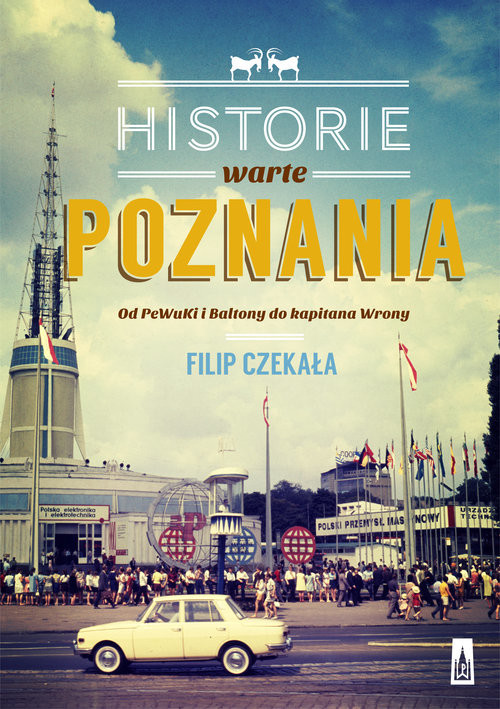 okładka Historie warte poznania, Książka   Czekała Filip