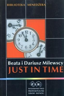 okładka Just in time, Książka   Milewska Beata, Milewski Dariusz