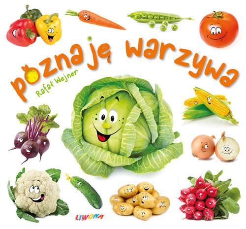 okładka Poznaję warzywa, Książka | Wejner Rafał