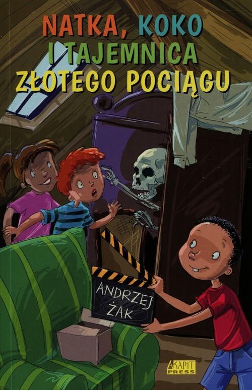 okładka Natka Koko i tajemnica złotego pociąguksiążka |  | Andrzej Żak