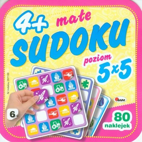 okładka Małe sudoku 6- poziom 5 x 5, Książka |