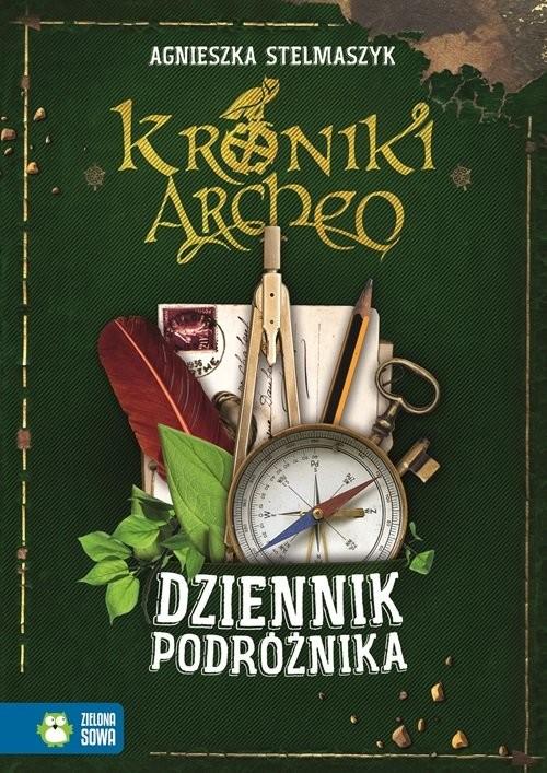 okładka Kroniki Archeo. Dziennik podróżnika, Książka | Stelmaszyk Agnieszka